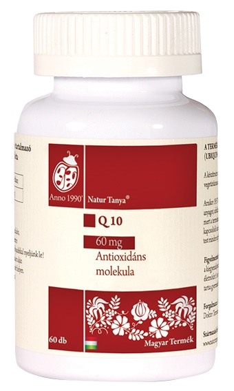 Q10 koenzim 60 mg antioxidáns tabletta 60db